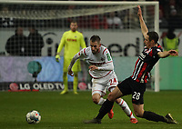 Dominick Drexler (1. FC Koeln) gegen Dominik Kohr (Eintracht Frankfurt) - 18.12.2019: Eintracht Frankfurt vs. 1. FC Koeln, Commerzbank Arena, 16. Spieltag<br /> DISCLAIMER: DFL regulations prohibit any use of photographs as image sequences and/or quasi-video.
