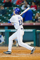 J.T. Riddle #10 of the Kentucky Wildcats follows through on his swing against the Houston Cougars at Minute Maid Park on March 5, 2011 in Houston, Texas.  Photo by Brian Westerholt / Four Seam Images