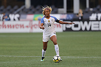 Seattle, WA - Thursday July 27, 2017: Casey Short during a 2017 Tournament of Nations match between the women's national teams of the United States (USA) and Australia (AUS) at CenturyLink Field.