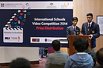 11 Feburary 2015, New Delhi, India: Winners of the India International Video Competition run by Austrade in conjunction with Cambridge English and major sponsors Singapore Airlines presented at the Australian High Commission, New Delhi.  Picture by Graham Crouch/Austrade