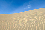 Sand dune in Christmas Lake Valley, southeast Oregon.