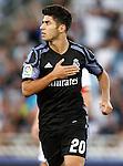 Real Madrid's Marco Asensio celebrates goal during La Liga match. August 21,2016. (ALTERPHOTOS/Acero)