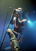 Marylin Manson  en spectacle, aout 1997