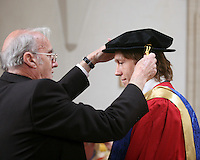 Jonny Wilkinson, England rugby star, at the University of Surrey to receive an Honorary Degree.