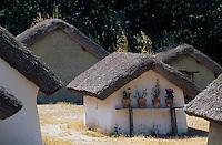 Europe/France/Pays de la Loire/85/Vendée/Saint-Hilaire-de-Riez/Bourrine du Bois-Juquaud: Habitats traditionnels