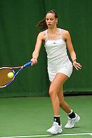 05-12-10, Tennis, Almere, Reaal WJC Masters, Erika Vogelzang
