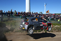 23rd May 2021; Felgueiras, Porto, Portugal; WRC Rally of Portugal, stages SS16-SS20;  Yohan Rossel-Citroen C3 WRC2