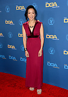 LOS ANGELES, USA. January 25, 2020: Jessica Yu at the 72nd Annual Directors Guild Awards at the Ritz-Carlton Hotel.<br /> Picture: Paul Smith/Featureflash