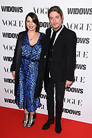 """Sadie Frost and Darren Strowger<br /> arriving for the """"Widows"""" special screening in association with Vogue at the Tate Modern, London<br /> <br /> ©Ash Knotek  D3457  31/10/2018"""