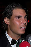 17.09.2012. Photocall 'Award Vanity Fair Person of the Year 2012´, awarded to the tennis player Rafa Nadal at the Italian Consulate in Madrid. In the image Rafa Nadal (Alterphotos/Marta Gonzalez)