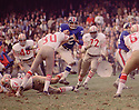 New York Giants Ronnie Blye (69)  during a game against the San Francisco 49ers on October 20. 1968 at Yankee Stadium in the Bronx, New York.  The  San Francisco 49ers beat the New York Giants 26-10. Ronnie Byle played for 2 season with 2 different teams.(SportPics)
