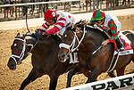 July 4, 2021: Mind Control, ridden by John Velazquez, wins the 2021 running of the G2 John A. Nerud S. at Belmont Park in Elmont, NY. Sophie Shore/ESW/CSM