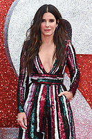 "Sandra Bullock<br /> arriving for the ""Ocean's 8"" European premiere at the Cineworld Leicester Square, London<br /> <br /> ©Ash Knotek  D3408  13/06/2018"