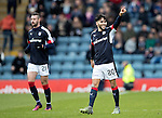 Dundee v St Johnstone….31.12.16     Dens Park    SPFL<br />Faissal El Bakhtaoui celebrates his goal<br />Picture by Graeme Hart.<br />Copyright Perthshire Picture Agency<br />Tel: 01738 623350  Mobile: 07990 594431