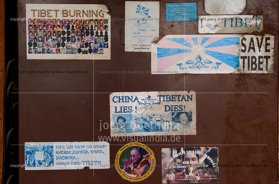 NEPAL Kathmandu, Jawalakhel tibetan refugee camp / tibetische Fluechtlinge, Jawalakhel Fluechtlingslager