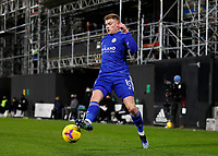 3rd February 2021; Craven Cottage, London, England; English Premier League Football, Fulham versus Leicester City; Harvey Barnes of Leicester City