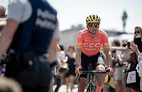 Greg Van Avermaet (BEL/CCC) at the race start in Brussels<br /> <br /> Stage 1: Brussels to Brussels(BEL/192km) 106th Tour de France 2019 (2.UWT)<br /> <br /> ©kramon