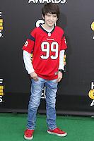 SANTA MONICA, CA, USA - FEBRUARY 15: Joshua Rush at the 4th Annual Cartoon Network Hall Of Game Awards held at Barker Hangar on February 15, 2014 in Santa Monica, California, United States. (Photo by David Acosta/Celebrity Monitor)