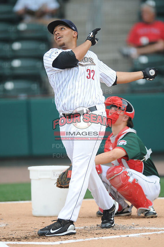 Lexington Legends Kody Hinze South Atlantic League All Star Game at Fluor Field in Greenville, South Carolina June 22, 2010.   The game ended in a 5-5 tie.  Photo By Tony Farlow/Four Seam Images