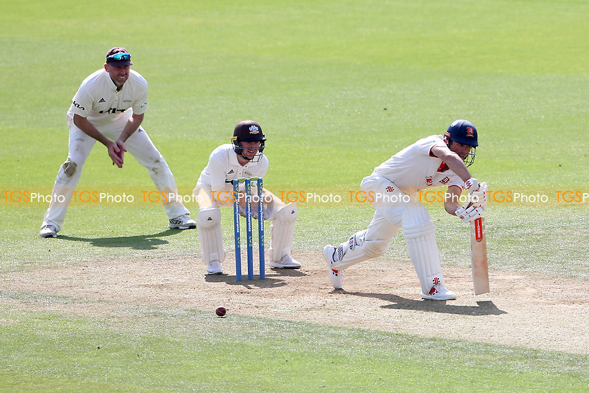 Sir Alastair Cook of Essex in batting during Surrey CCC vs Essex CCC, LV Insurance County Championship Division 2 Cricket at the Kia Oval on 12th September 2021