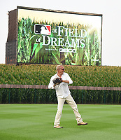 DYERSVILLE, IOWA - AUGUST 11: Kevin Costner attends the MLB Field of Dreams on August 11, 2021 in Dyersville, Iowa. The MLB Field of Dreams game between the Yankees and White Socks will be on August 12 on Fox. (Photo by Frank Micelotta/Fox Sports/PictureGroup)