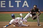 USA-Baseball NYMets Vs Marlins in New York