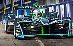 Nelson Piquet Jr of Brazil from Panasonic Jaguar Racing competes in the Formula E Qualifying Session 2 during the FIA Formula E Hong Kong E-Prix Round 2 at the Central Harbourfront Circuit on 03 December 2017 in Hong Kong, Hong Kong. Photo by Victor Fraile / Power Sport Images