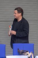 """28. Sitzung des Deutschen Bundestag am Mittwoch den 25. April 2018.<br /> Im Bild: Stephan Brandner, Abgeordneter der rechtsnationalistischen """"Alternative fuer Deutschalnd"""", AfD.<br /> 25.4.2018, Berlin<br /> Copyright: Christian-Ditsch.de<br /> [Inhaltsveraendernde Manipulation des Fotos nur nach ausdruecklicher Genehmigung des Fotografen. Vereinbarungen ueber Abtretung von Persoenlichkeitsrechten/Model Release der abgebildeten Person/Personen liegen nicht vor. NO MODEL RELEASE! Nur fuer Redaktionelle Zwecke. Don't publish without copyright Christian-Ditsch.de, Veroeffentlichung nur mit Fotografennennung, sowie gegen Honorar, MwSt. und Beleg. Konto: I N G - D i B a, IBAN DE58500105175400192269, BIC INGDDEFFXXX, Kontakt: post@christian-ditsch.de<br /> Bei der Bearbeitung der Dateiinformationen darf die Urheberkennzeichnung in den EXIF- und  IPTC-Daten nicht entfernt werden, diese sind in digitalen Medien nach §95c UrhG rechtlich geschuetzt. Der Urhebervermerk wird gemaess §13 UrhG verlangt.]"""