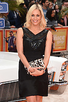 """Jenni Falconer<br /> arrives for the premiere of """"The Nice Guys"""" at the Odeon Leicester Square, London.<br /> <br /> <br /> ©Ash Knotek  D3120  19/05/2016"""