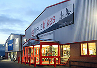 Tredz Bikes in Llansamlet Industrial Park, Swansea, Wales, UK.