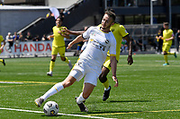 Adam Thurston of Eastern Suburbs during the ISPS Handa Men's Premiership - Wellington Phoenix v Eastern Suburbs at Fraser Park, Wellington on Saturday 28 November 2020.<br /> Copyright photo: Masanori Udagawa /  www.photosport.nz