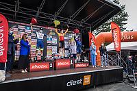 podium:<br /> 1st place: Rasmus Tiller (NOR/Uno-X)<br /> 2nd place: Danny Van Poppel (NED/Intermarche-Wanty Gobert)<br /> 3th place: Yves Lampaert (BEL/Deceuninck-Quick Step), <br /> <br /> 17th Dwars Door Het Hageland 2021<br /> One Day Race: Aarschot – Diest 18Okm (UCI 1.Pro)<br /> Bingoal Cycling Cup 2021<br /> <br /> ©kramon