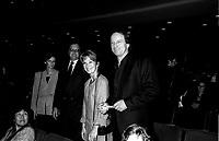 FILE -  Michel cote et son epouse a l' Ouverture du FFM le 25 aout 1994<br /> <br /> PHOTO : Agence Quebec Presse