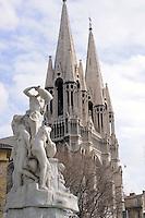 - Marsiglia, chiesa delle Riforme....-  Marseille, Reforms church