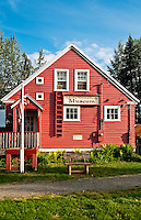 Talkeetna Historical Society Museum, Talkeetna, Alaska, AK, USA