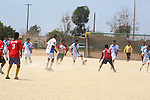 ORGANIZED SOCCER, TEAMS COMPETE in SOCCER (football) GAME