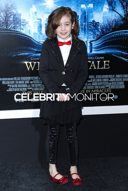 """NEW YORK, NY - FEBRUARY 11: Ripley Sobo at the World Premiere Of Warner Bros. Pictures' """"Winter's Tale"""" held at Ziegfeld Theatre on February 11, 2014 in New York City. (Photo by Jeffery Duran/Celebrity Monitor)"""