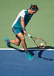 Roger Federer (SUI) defeats Phillipp Kohlschreiber (GER) 6-3, 6-4, 6-4 at the US Open in Flushing, NY on September 5, 2015.