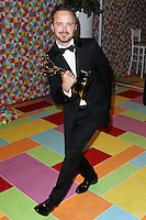 WEST HOLLYWOOD, CA, USA - AUGUST 25: Aaron Paul at HBO's 66th Annual Primetime Emmy Awards After Party held at the Pacific Design Center on August 25, 2014 in West Hollywood, California, United States. (Photo by Xavier Collin/Celebrity Monitor)