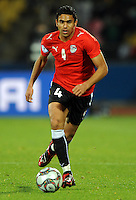 Ahmed Said of Egypt. USA defeated Egypt 3-0 during the FIFA Confederations Cup at Royal Bafokeng Stadium in Rustenberg, South Africa on June 21, 2009.