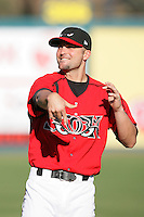 May 19, 2010: Kevin Hansen of the Lake Elsinore Storm during game against the Stockton Ports at The Diamond in Lake Elsinore,CA.  Photo by Larry Goren/Four Seam Images
