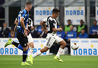 Calcio, Serie A: Inter Milano - Juventus, Giuseppe Meazza stadium, October 6 2019.<br /> Juventus' Paulo Dybala (r) is going to score during the Italian Serie A football match between Inter and Juventus at Giuseppe Meazza (San Siro) stadium, October 6, 2019.<br /> UPDATE IMAGES PRESS/Isabella Bonotto