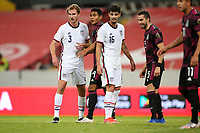 GUADALAJARA, MEXICO - MARCH 24: Henry Kessler #3 of the United States and teammate Johnny Cardoso #16 during a game between Mexico and USMNT U-23 at Estadio Jalisco on March 24, 2021 in Guadalajara, Mexico.