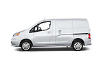 Car Driver side profile view of a2017 Chevrolet City Express LT 5 Door Cargo Van Side View