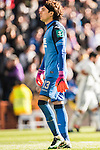 Goalkeeper Francisco Guillermo Ochoa Magana of Granada CF looks on during their La Liga match between Real Madrid and Granada CF at the Santiago Bernabeu Stadium on 07 January 2017 in Madrid, Spain. Photo by Diego Gonzalez Souto / Power Sport Images