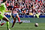Atletico de Madrid's Olga Garcia during Liga Iberdrola match between Atletico de Madrid and FC Barcelona at Wanda Metropolitano Stadium in Madrid, Spain. March 17, 2019. (ALTERPHOTOS/A. Perez Meca)