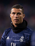 Cristiano Ronaldo of Real Madrid in training prior to their La Liga match between Atletico de Madrid and Real Madrid at the Vicente Calderón Stadium on 19 November 2016 in Madrid, Spain. Photo by Diego Gonzalez Souto / Power Sport Images
