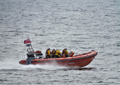 Kilkeel Lifeboat Launches to Fishing Boat with Fouled Propeller on Carlingford Lough