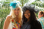 HALLANDALE BEACH, FL- APRIL 02: Scenes from Florida Derby Day at Gulfstream Park on April 02, 2016 in Hallandale Beach, Florida. (Photo by Arron Haggart/Eclipse Sportswire/Getty Images)