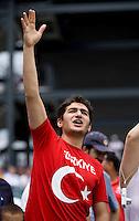 Turkey Fan. The USMNT defeated Turkey, 2-1, at Lincoln Financial Field in Philadelphia, PA.